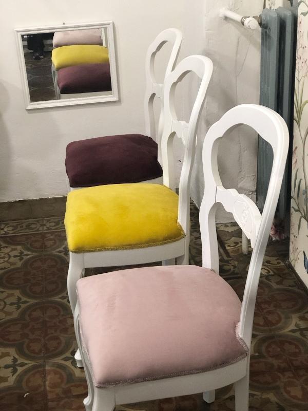 Sedie imbottite - Atelier des Pampilles